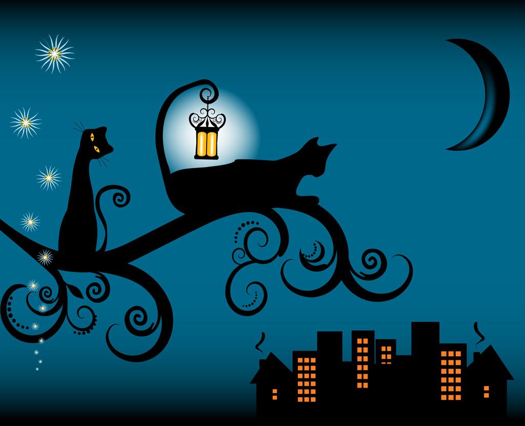 猫 かっこいい イラスト | 7331 イラス